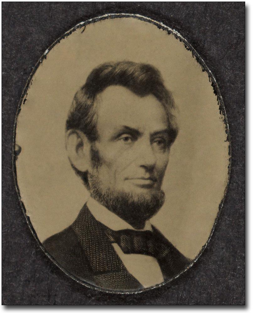PRESIDENT ABRAHAM LINCOLN PORTRAIT 1864 8x10 SILVER HALIDE PHOTO PRINT
