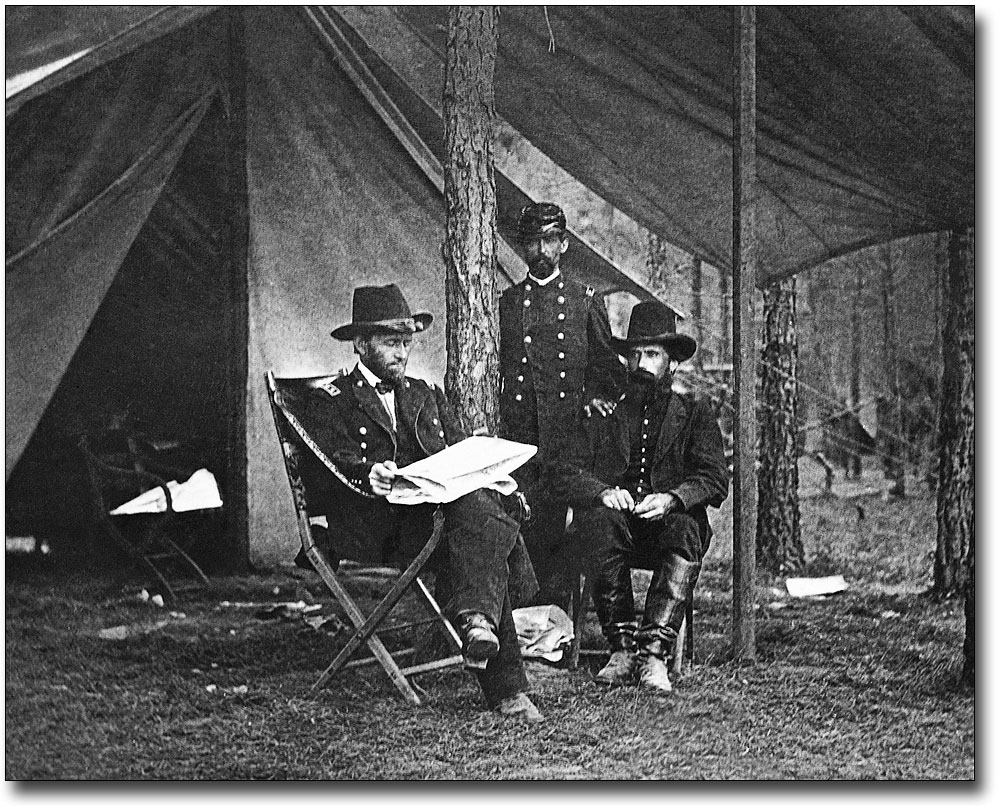 Grant at Cold Harbor New Civil War Photo 6 Sizes! Union General Ulysses S
