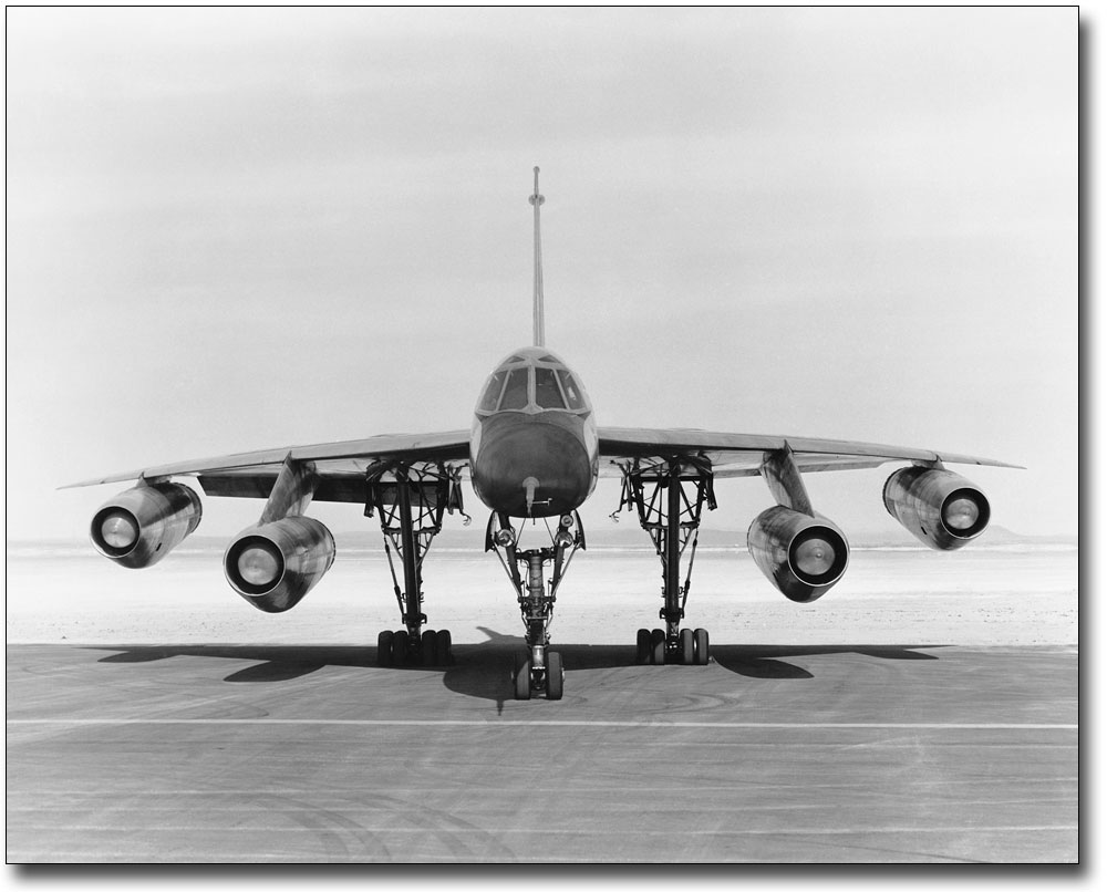 U.S Air Force B-58A Hustler-First Operational Supersonic Bomber-8x12 Photo