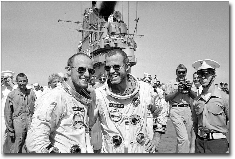 Michael Collins, back-up pilot, Gemini 7   Project gemini