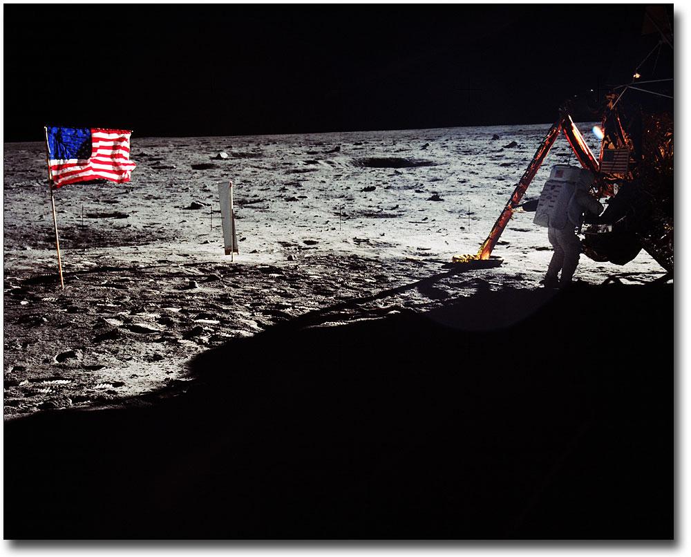 Apollo 11 Neil Armstrong Portrait 8.5 X 11 Museum Silver Halide Photo Print