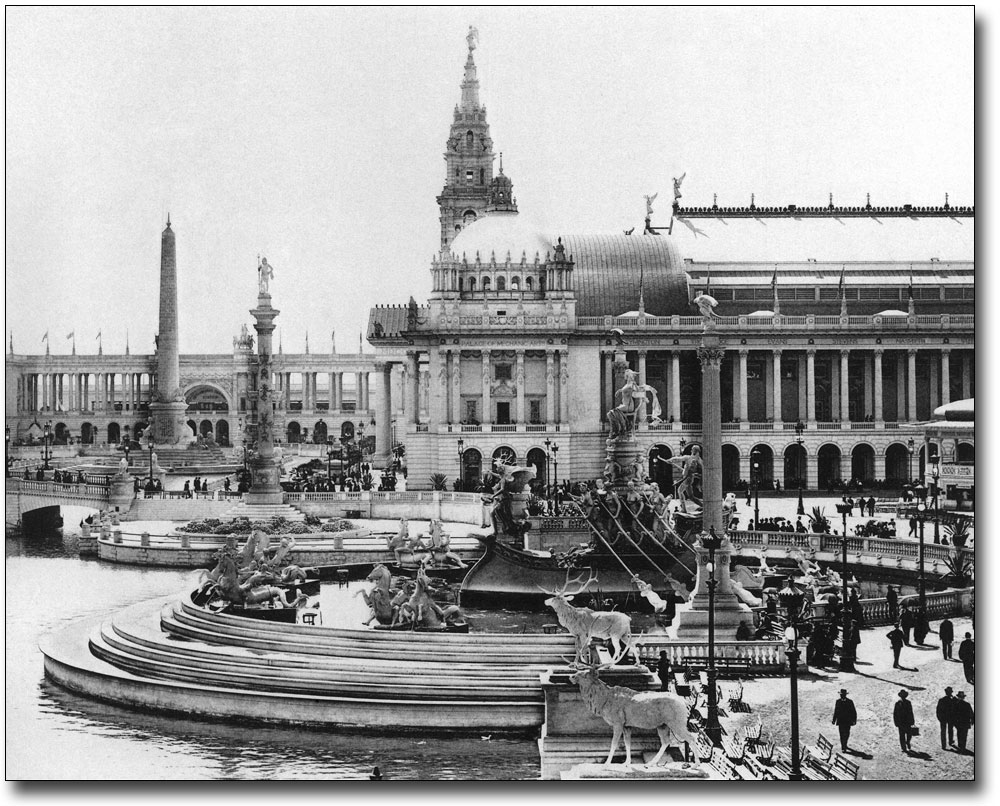 Chicago World's Fair 1893: Manufactures Building. 1893 ... |Worlds Fair 1893