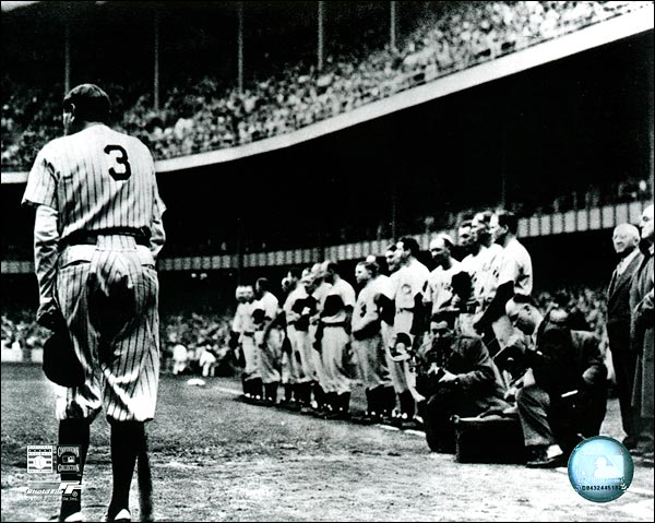 Babe Ruth Farewell NY Yankees Baseball Photo Print for Sale