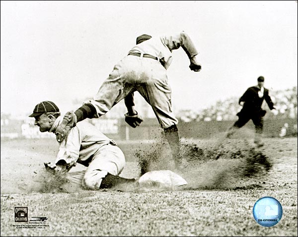 Ty cobb slide detroit tigers baseball photo print for sale for Photography prints for sale