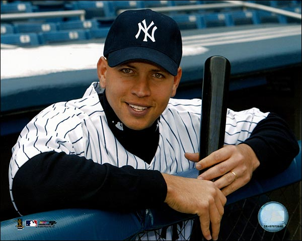 Alex Rodriguez New York Yankees Baseball Photo Print for Sale