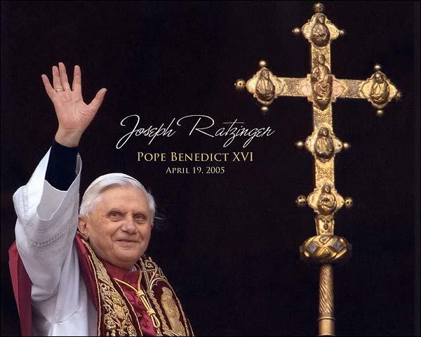 Joseph Ratzinger Pope Benedict XVI Photo Print for Sale