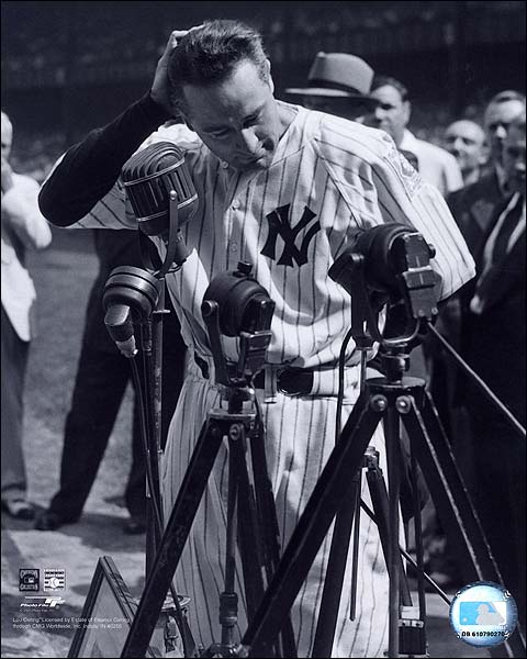 New York Yankees Baseball Player Lou Gehrig Photo Print for Sale