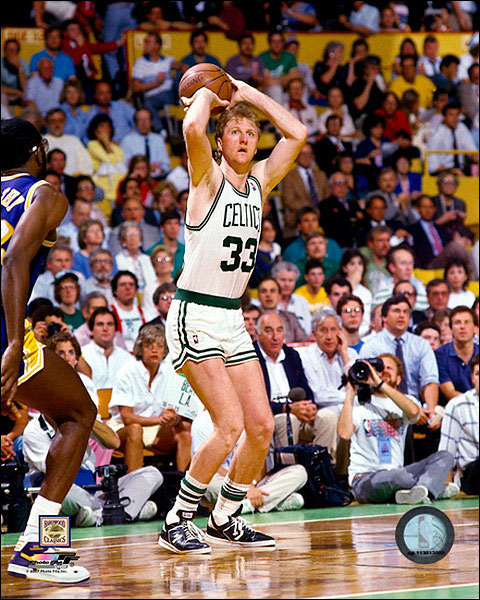Larry Bird Boston Celtics Basketball Photo Print For Sale