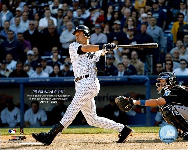 Derek Jeter New York Yankees Baseball Photo Print for Sale