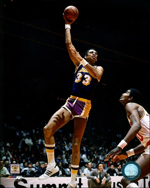 Lakers Basketball Kareem Abdul-Jabbar Photo Print for Sale