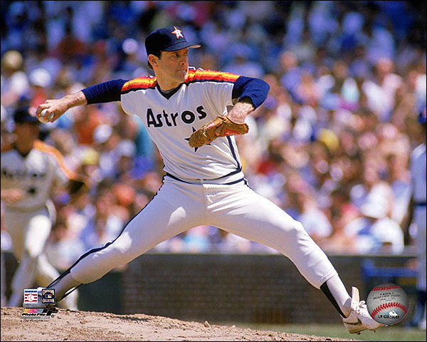 Houston Astros Baseball Nolan Ryan Pitching Photo Print For Sale