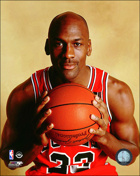 Chicago Bulls Basketball Michael Jordan Posed Photo Print For Sale