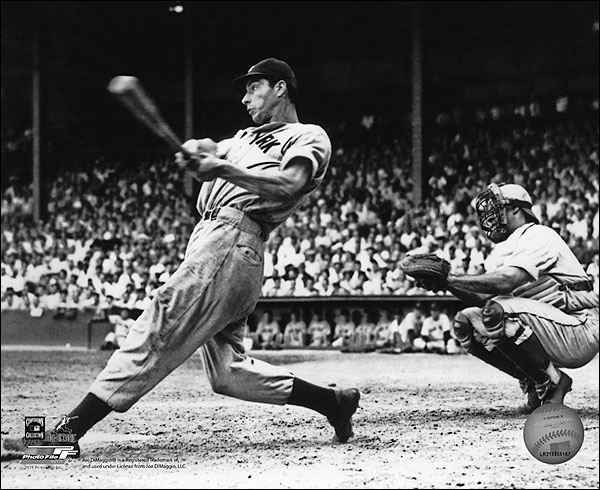 Joe DiMaggio New York Yankees Baseball Photo Print for Sale