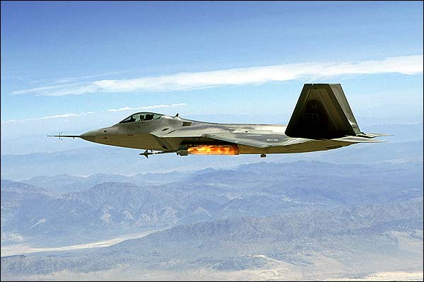 Lockheed F-22 Raptor Fires Missile Photo Print for Sale