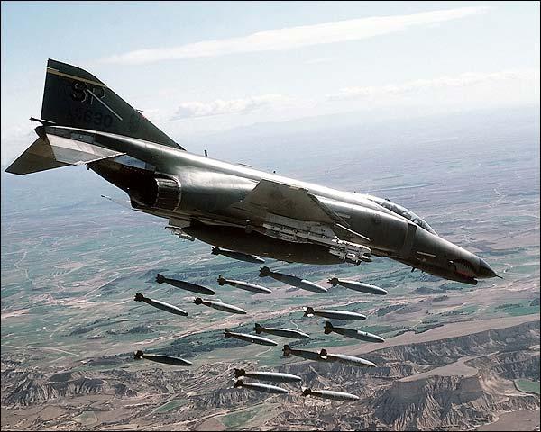 F-4 Phantom II Bomb Release Photo Print for Sale