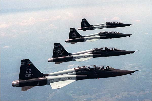 T-38 Talon Formation Photo Print for Sale