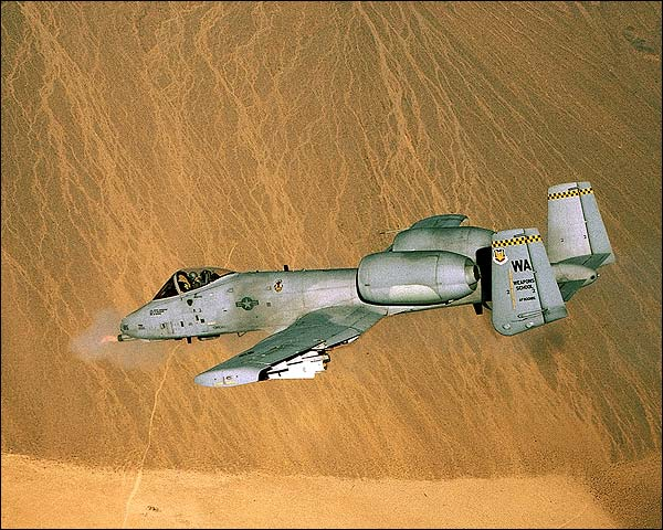A-10 Thunderbolt Opens Fire Photo Print for Sale