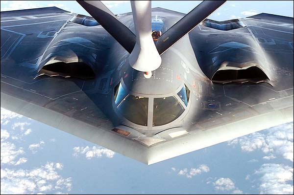 B-2 Stealth Bomber Refueling Photo Print for Sale