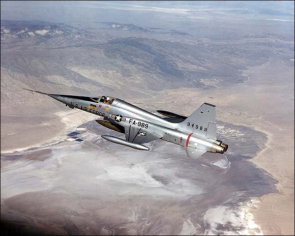Northrop F-5 Freedom Fighter in Flight Photo Print for Sale