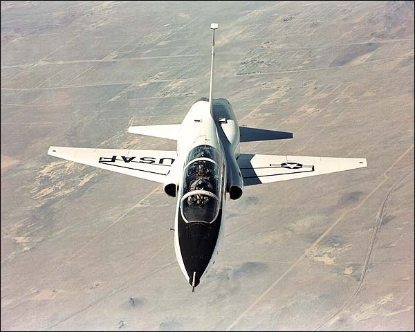 Northrop T-38 Talon in Flight Photo Print for Sale
