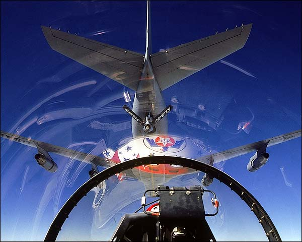 View From The Cockpit Of A Usaf Thunderbird 110
