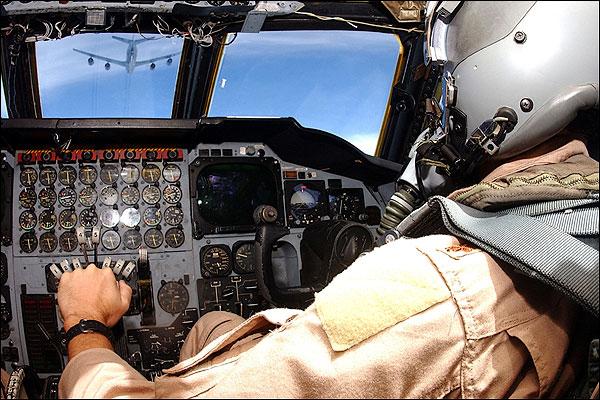 B-52 Bomber Cockpit & KC-135 Refueling Photo Print for Sale