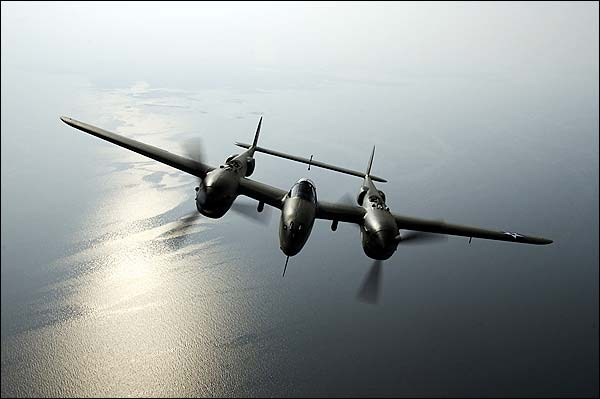 P-38 Lightning Glacier Girl Photo Print for Sale