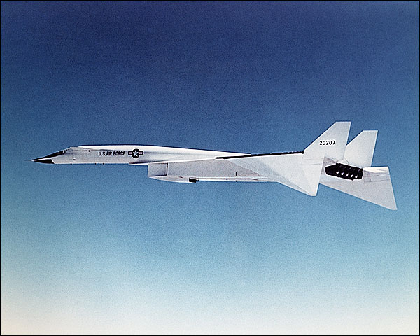 XB-70 Aircraft in Flight US Air Force Photo Print for Sale