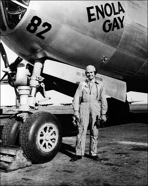 B-29 Enola Gay Pilot Paul Tibbets WWII Photo Print for Sale