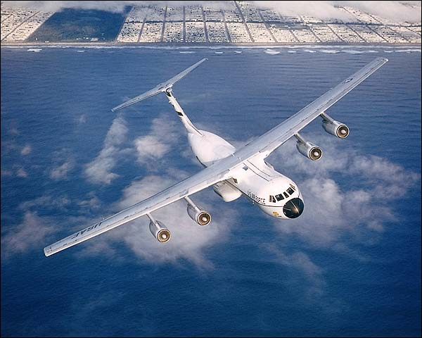 C-141 Starlifter in Flight Photo Print for Sale
