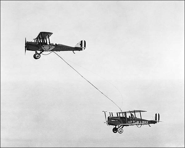 De Havilland DH-4 First Midair Refueling Photo Print for Sale
