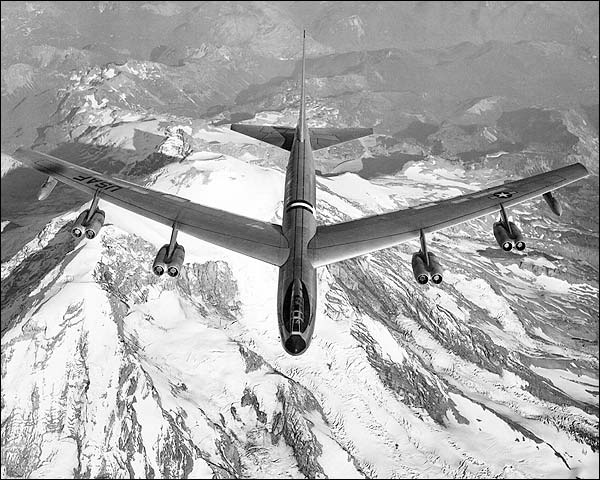 Boeing XB-52 / B-52 Stratofortress Flight Photo Print for Sale