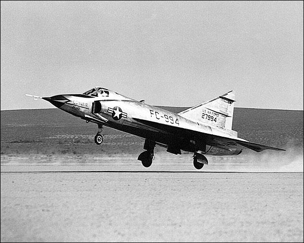 Convair F-102 Delta Dagger Take Off Photo Print for Sale