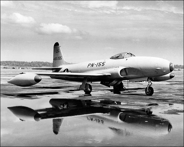 Lockheed P-80 Shooting Star Photo Print for Sale