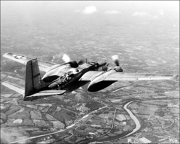 Douglas A-26 Invader WWII Aircraft Flight Photo Print for Sale