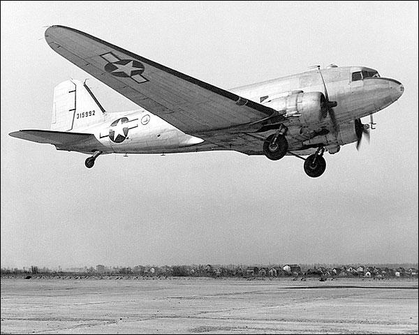 Douglas C-47 Skytrain Transport Aircraft Photo Print for Sale