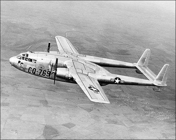 Fairchild C-119A / C-119 Flying Boxcar Photo Print for Sale