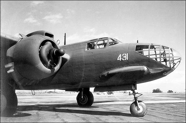 Douglas A-20 Havoc Attack Plane Close-Up Photo Print for Sale