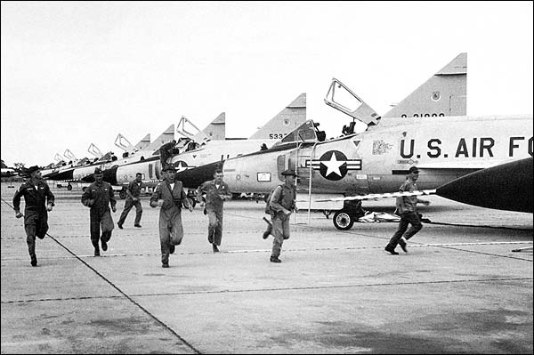 Convair F-102 Delta Dagger Flight Line Photo Print for Sale