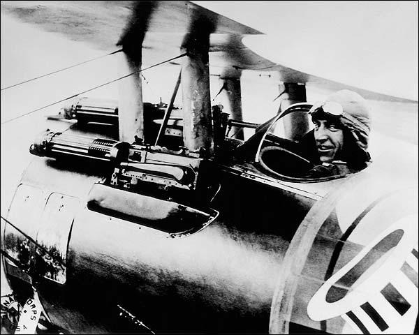 Eddie Rickenbacker WWI Air Ace Photo Print for Sale