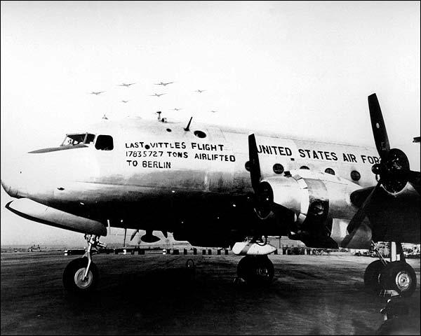 Berlin Airlift 1949 Last Vittles Flight Photo Print for Sale