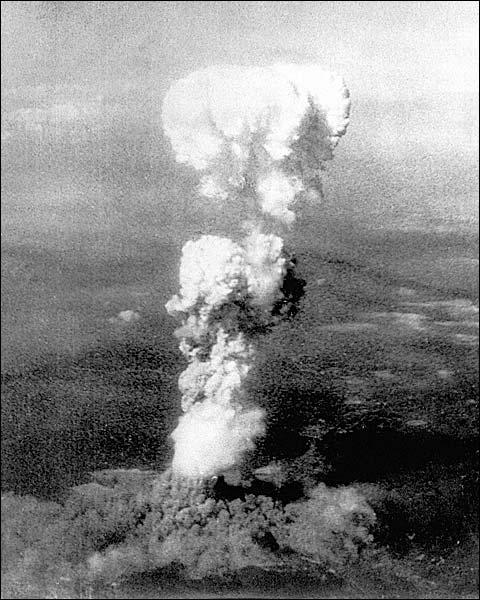 Hiroshima Mushroom Cloud Atomic Bomb Photo Print for Sale