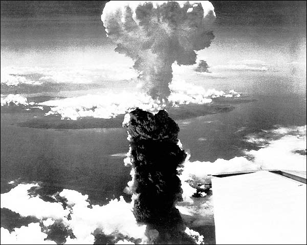 Nagasaki Mushroom Cloud Atom Bomb Photo Print for Sale