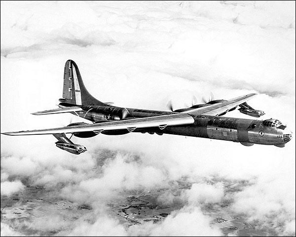 Convair RB-36D / B-36 in Flight Photo Print for Sale