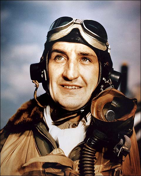 P-47 Pilot Lt. Col. Francis Gabreski Photo Print for Sale