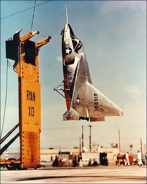 Ryan X-13 Vertijet Experimental Aircraft Photo Print for Sale