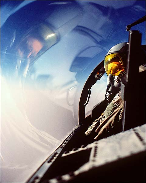 Air Force F-15 Eagle Pilot Photo Print for Sale