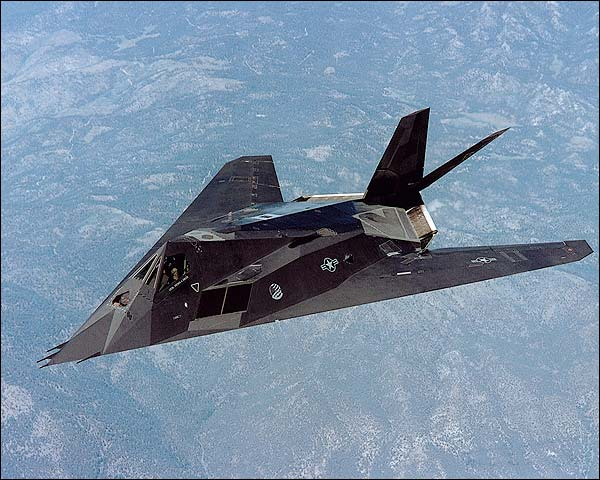 Air Force F-117 'Nighthawk' Stealth Fighter  Photo Print for Sale