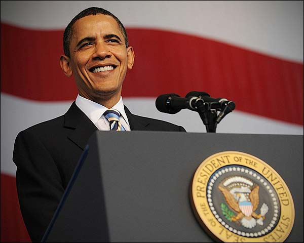 President Obama Address at Naval Air Station Jacksonville  Photo Print for Sale