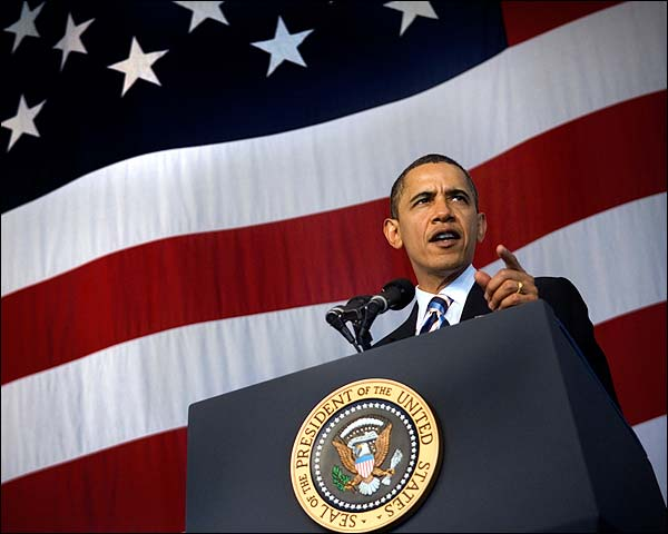 President Obama Speech at Naval Air Station Jacksonville Photo Print for Sale